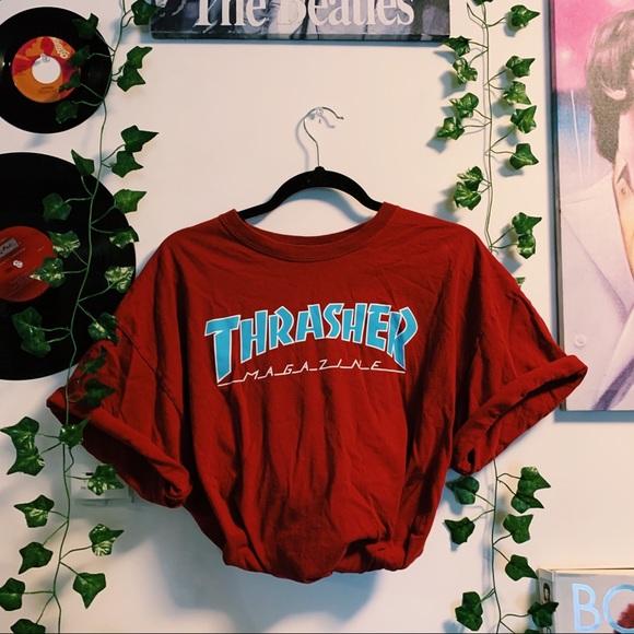 ☆ THRASHER TEE ☆